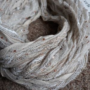 NWT Charming Charlie Infinity Scarf Neutrals